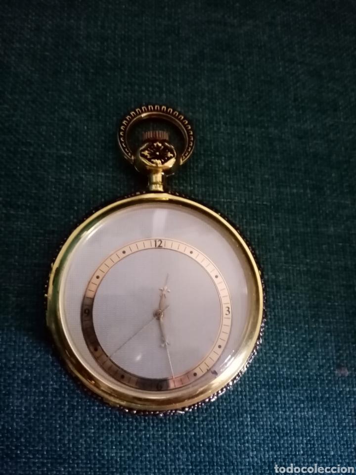 Relojes de bolsillo: Antiguo reloj de bolsillo Dorado singular - Foto 2 - 209026805