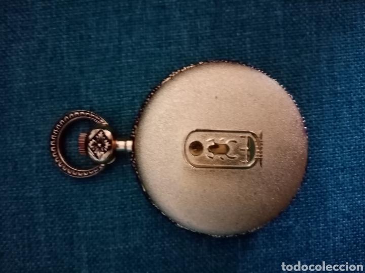 Relojes de bolsillo: Antiguo reloj de bolsillo Dorado singular - Foto 3 - 209026805