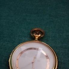 Relojes de bolsillo: ANTIGUO RELOJ DE BOLSILLO DORADO SINGULAR. Lote 209026805