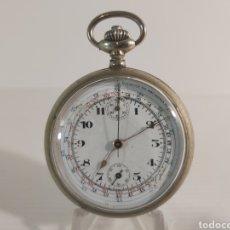 Relojes de bolsillo: ANTIGUO RELOJ DE BOLSILLO CRONOMETRO. Lote 209649025