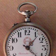 Relojes de bolsillo: RELOJ DE BOLSILLO ANTIGUO ROSKOPF NIETO PATENT CRONOMETRO ORIGINAL. Lote 210048471