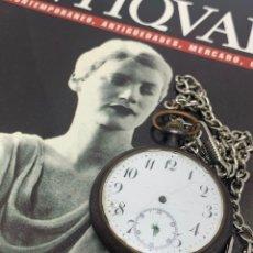 Relojes de bolsillo: ANTIGUO RELOJ DE BOLSILLO PATENT. Lote 210265247