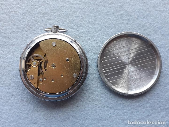 Relojes de bolsillo: Reloj de bolsillo marca Ruhlo. Made in Germany. - Foto 3 - 210332500