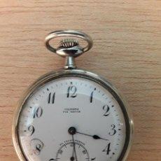 Relojes de bolsillo: RELOJ DE BOLSILLO CILINDRO FIX WATCH,EL TRUST MADRID. Lote 210332726