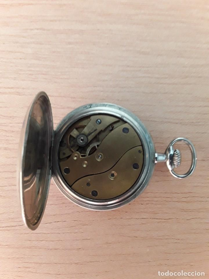 Relojes de bolsillo: Reloj de bolsillo cilindro fix watch,el trust madrid - Foto 3 - 210332726
