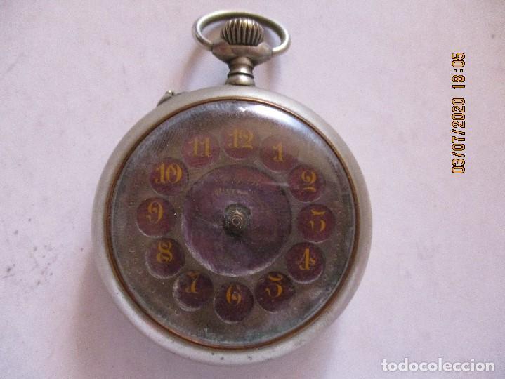 RELOJ DE BOLSILLO CON ESFERAS ESMALTADAS (Relojes - Bolsillo Carga Manual)