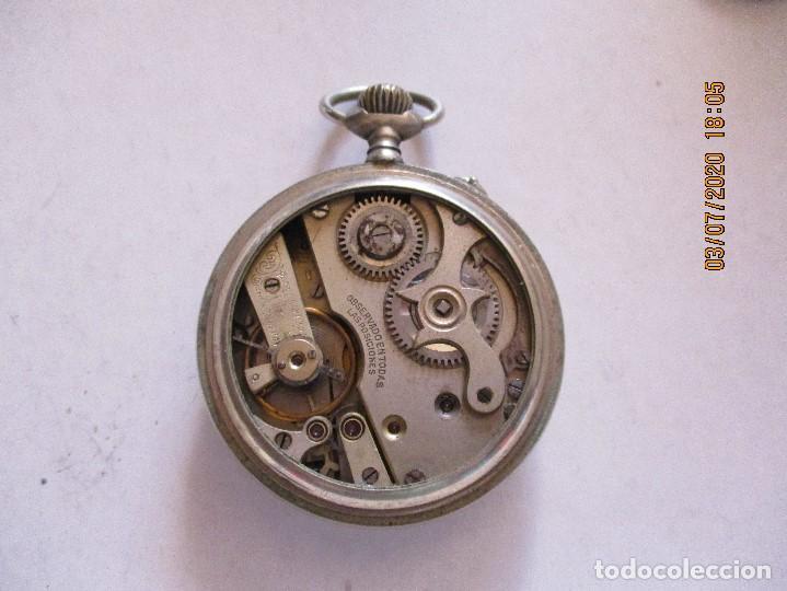Relojes de bolsillo: reloj de bolsillo con esferas esmaltadas - Foto 3 - 210332795