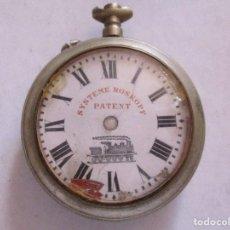 Relojes de bolsillo: RELOJ DE BOLSILLO SYSTEME ROSKOPF PATENT. Lote 210333081