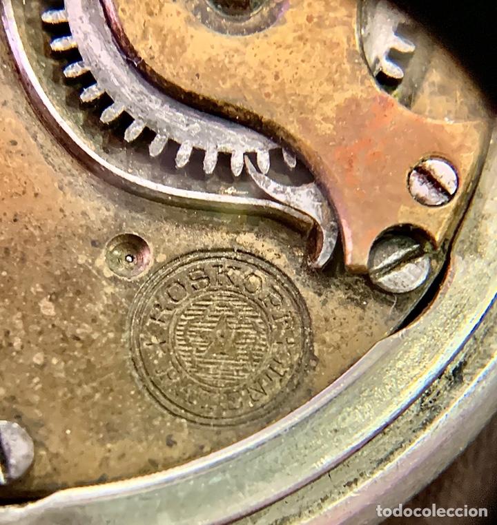 Relojes de bolsillo: Reloj Bolsillo Roskopf Patent - Foto 4 - 210341280