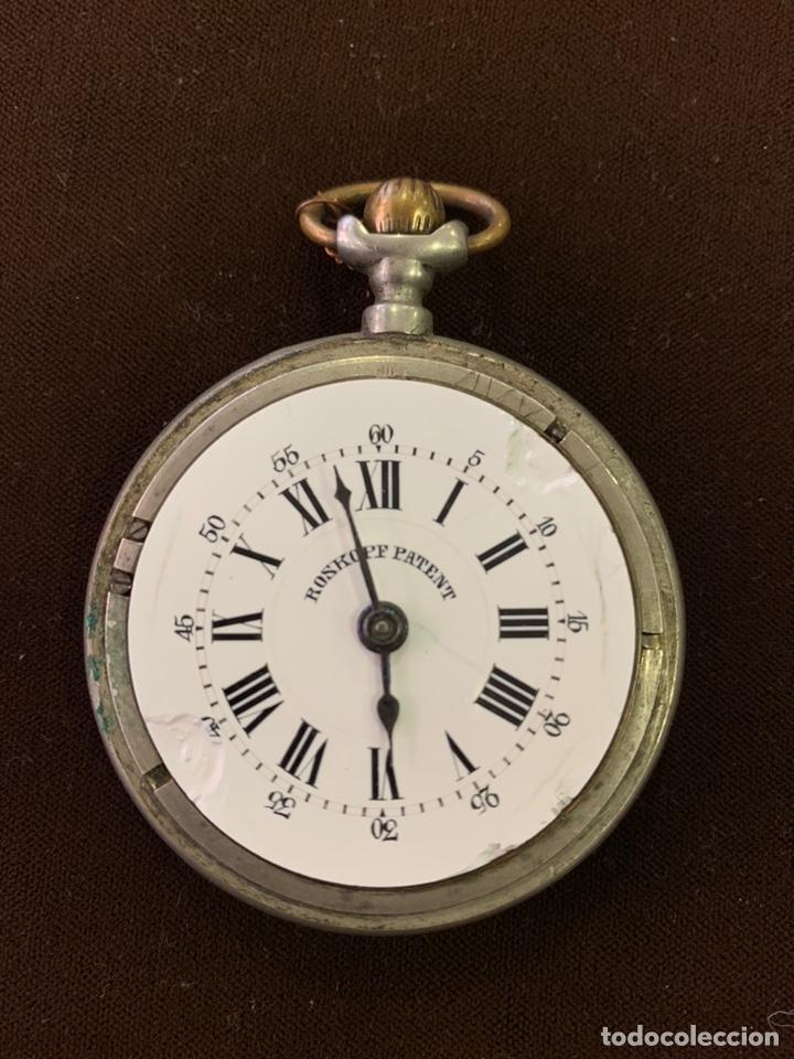 RELOJ BOLSILLO ROSKOPF PATENT (Relojes - Bolsillo Carga Manual)