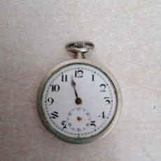 Relojes de bolsillo: RELOJ DE BOLSILLO SUIZO DE PLATA. Lote 210394787