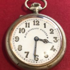 Relojes de bolsillo: ANTIGUO RELOJ DE BOLSILLO ROSKOPF PATENT.. Lote 211408550