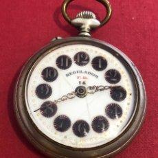 Relojes de bolsillo: ANTIGUO RELOJ DE BOLSILLO REGULADOR.. Lote 211409340