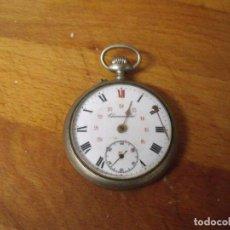 Relógios de bolso: ANTIGUA RELOJ BOLSILLO CHRONOMETRE-AÑO 1890- FUNCIONA PERFECTAMENTE- LOTE 259. Lote 211411232