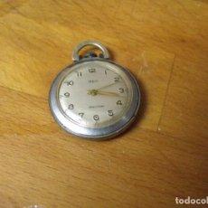 Relojes de bolsillo: ANTIGUO RELOJ BOLSILLO O DE COLGANTE REG-17 RUBIES- LOTE 259-FUNCIONA PERFECTAMENTE. Lote 211411805
