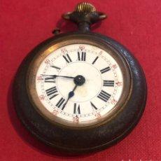 Relojes de bolsillo: ANTIGUO RELOJ DE BOLSILLO, EN METAL PAVONADO CYCLOPE.. Lote 211418659