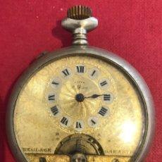 Relógios de bolso: ANTIGUO RELOJ DE BOLSILLO 8 DÍAS CUERDA.. Lote 211423069