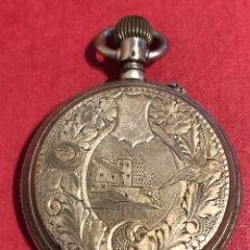 Relojes de bolsillo: PRECIOSO RELOJ DE BOLSILLO, DE 3 TAPAS DE PLATA.. Lote 211431285