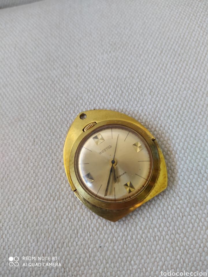 Relojes de bolsillo: Raro reloj mecánico ruso Vostok de escritorio ó colgante - Foto 3 - 211475846