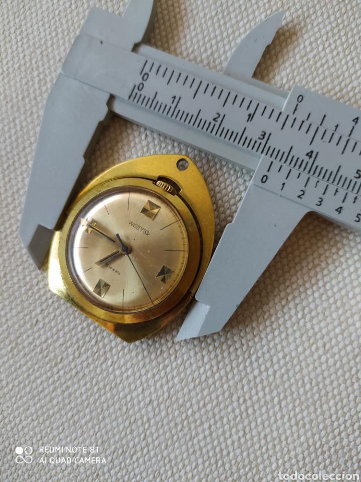 Relojes de bolsillo: Raro reloj mecánico ruso Vostok de escritorio ó colgante - Foto 10 - 211475846