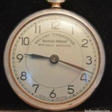 Relojes de bolsillo: INTERESANTE Y ANTIGUO RELOJ DE BOLSILLO DE FERROCARRIL MADE IN AUSTRIA AÑOS 20/30. Lote 211696055