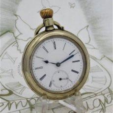 Relojes de bolsillo: MUY BONITO RELOJ DE BOLSILLO-CIRCA 1880-FUNCIONANDO. Lote 212115020