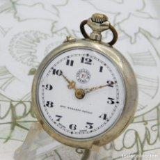 Relojes de bolsillo: REGULADOR 1ª EXTRA-GENRE ROSKOPF PATENT-SUIZO-RELOJ DE BOLSILLO-CIRCA 1900-1910-FUNCIONANDO. Lote 212414941