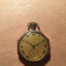 Relojes de bolsillo: ANTIGUO RELOJ DE BOLSILLO CHAPADO DE ORO WALTHAM YLLINOIS WATCH CASE C.O. ELGIN U.S.A.. Lote 212591436