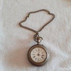 Relojes de bolsillo: RELOJ SUIZO ANTIGUO - S. XIX - LACROIX GENEVE - ANCAE LIGNE DAOITE - 15 RUBIS. Lote 212769785