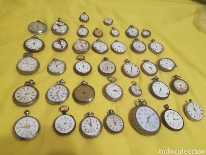 Relojes de bolsillo: Lote relojes de bolsillo 44u - Foto 2 - 212801102