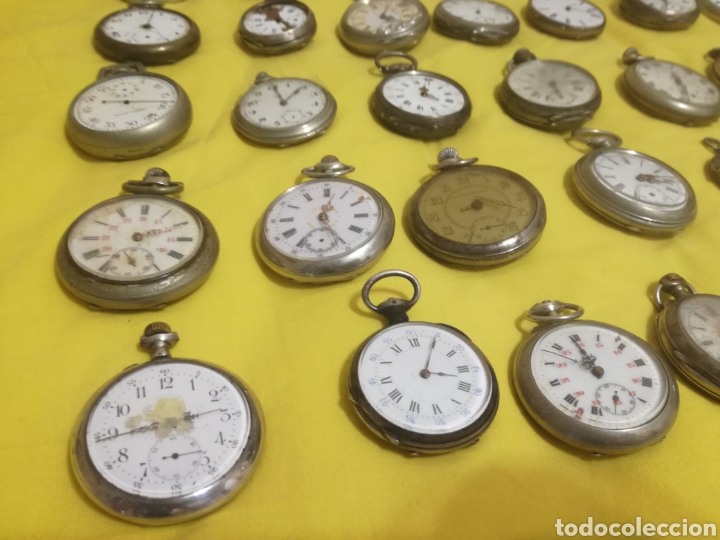 Relojes de bolsillo: Lote relojes de bolsillo 44u - Foto 3 - 212801102