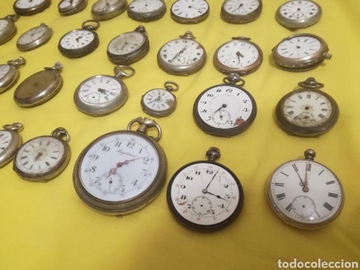 Relojes de bolsillo: Lote relojes de bolsillo 44u - Foto 4 - 212801102