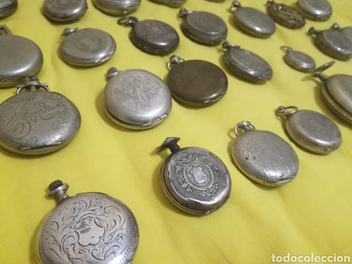 Relojes de bolsillo: Lote relojes de bolsillo 44u - Foto 5 - 212801102