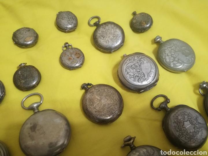 Relojes de bolsillo: Lote relojes de bolsillo 44u - Foto 6 - 212801102