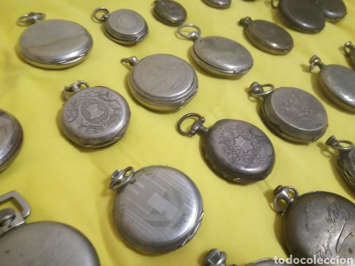 Relojes de bolsillo: Lote relojes de bolsillo 44u - Foto 7 - 212801102