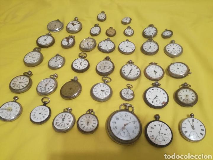 LOTE RELOJES DE BOLSILLO 44U (Relojes - Bolsillo Carga Manual)