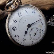 Relojes de bolsillo: RELOJ DE BOLSILLO DE PLATA MARCA ASDRUBAL. FUNCIONANDO.. Lote 213307781