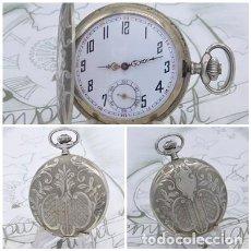 Relojes de bolsillo: BONITO RELOJ DE BOLSILLO SABONETA-24 HORAS-SUIZO-CIRCA 1910-1920-FUNCIONANDO. Lote 213426796