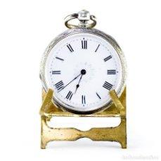 Relojes de bolsillo: RELOJ ALEMÁN DE COLGAR, LEPINE. CA. 1900. Lote 213534450
