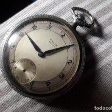 Relojes de bolsillo: VIROX 15 JEWELS DE BOLSILLO.REPARAR.. Lote 213554276
