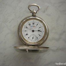 Relojes de bolsillo: RELOJ DE BOLSILLO OTOMANO DE PLATA AÑO 1850. Lote 213583786