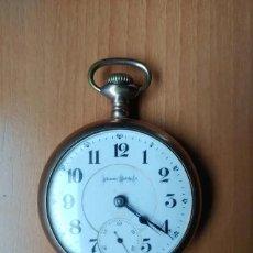 Relojes de bolsillo: RELOJ DE BOLSILLO ILLINOIS WATCH CO. BUNN. Lote 213602131