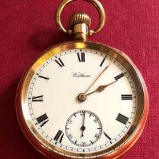 Relojes de bolsillo: MAGNÍFICO RELOJ DE BOLSILLO ANTIGUO WALTHAM. U.S.A.. Lote 213977677