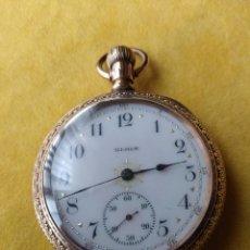 Relojes de bolsillo: RELOL DE BOLSILLO ELGIN USA GRADO 213 DE 1900. Lote 214344936