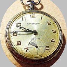 Relojes de bolsillo: CUERVO Y SOBRINO. Lote 214391797