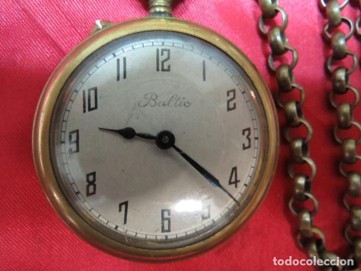 Relojes de bolsillo: PRECIOSO RELOJ SUIZO BALTIC BOLSILLO FUNCIONANDO Y PERFECTO - Foto 2 - 214402167