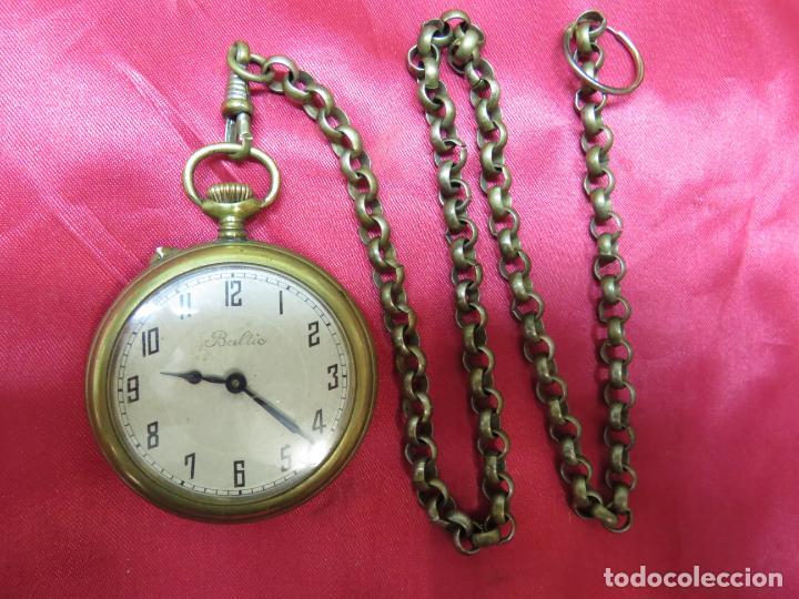 PRECIOSO RELOJ SUIZO BALTIC BOLSILLO FUNCIONANDO Y PERFECTO (Relojes - Bolsillo Carga Manual)