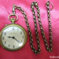 Relojes de bolsillo: PRECIOSO RELOJ SUIZO BALTIC BOLSILLO FUNCIONANDO Y PERFECTO. Lote 214402167