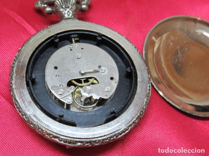 Relojes de bolsillo: RELOJ BOLSILLO YVES RENAUD MAQUINARIA FUNCIONANDO VERRR - Foto 3 - 214403937