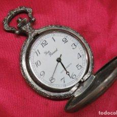 Relojes de bolsillo: RELOJ BOLSILLO YVES RENAUD MAQUINARIA FUNCIONANDO VERRR. Lote 214403937
